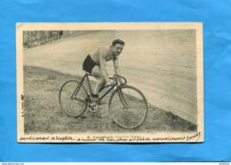 CARAPEZZI-coureur Cycliste  Italien -a Voyagé En  1905 Pour Allemagne-Kempten-édition   B F - Cycling