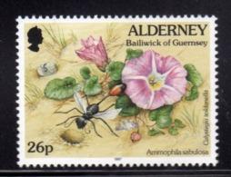 ALDERNEY 1997 FLORA AND FAUNA NEW VALUE NUOVO VALORE 26p MNH - Alderney