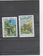 POLYNESIE Française - Faune - Oiseaux Uniques Au Monde : Pilope De Hutton (Philinopus Huttoni), Carpophage Des Marquises - Polynésie Française