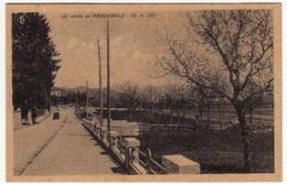 UN SALUTO DA MARCHIROLO - VARESE - PRIMI ANNI '50 - Vedi Retro - Formato Piccolo - Milano