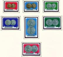 AITUTAKI  -  1973 Coins Set Unmounted/Never Hinged Mint - Aitutaki