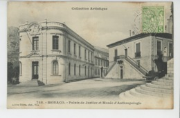 MONACO - Palais De Justice Et Musée D'Anthropologie - Andere