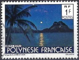 French Polynesia 1979 - Mi 278 IA - YT 132 ( Landscape : Bora-Bora ) - Used Stamps