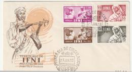 FDC - IFNI - Pro Infancia 1953 - Ifni