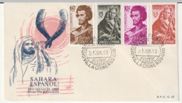 FDC - SAHARA ESPAGNOL - Pro Infancia 1953 - Sahara Spagnolo