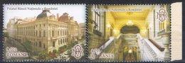 2013 - ROMANIA - PALAZZO DELLA BANCA NAZIONALE / NATIONAL BANK PALACE - USATO / USED - 1948-.... Repubbliche