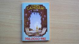ALMANACCO AGENDA CAMPARI PREZIOSO ANNO 1982 - Vecchi Documenti