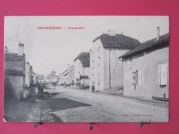 Visuel Très Peu Courant - 70 - Cendrecourt - Grande Rue - 1906 - Scans Recto Verso - France