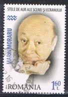 2014 - ROMANIA - PERSONE FAMOSE - MARIN MORARU ATTORE / FAMOUS PEOPLE MARIN MORARU ACTOR- USATO / USED - 1948-.... Repubbliche