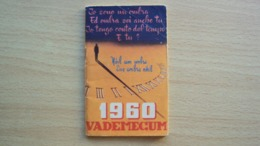 ALMANACCO AGENDA VADEMECUM ANNO 1960 - Vecchi Documenti