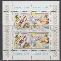 Europa Cept 1982 Turkey M/s Used (44925) - Europa-CEPT