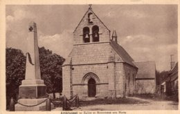 S2786 Cpa 19 Ambrugeat - Eglise Et Monument Aux Morts - Other Municipalities