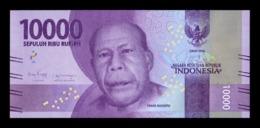 Indonesia 10000 Rupiah 2016 (2018) Pick 157c Second Sign SC UNC - Indonesia