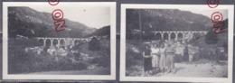Au Plus Rapide Saint Claude Jura Col De La Faucille Août 1954 - Orte