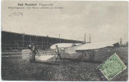 Bad Mondorf (Flugwoche / Semaine D'Aviation 1910) - Blériotapparat - Der Motor Arbeitet Zur Abfahrt (Bellwald) - Mondorf-les-Bains