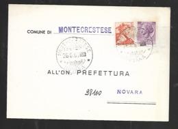Comune Di Montecrestese - Viaggiata - Reclame
