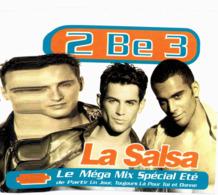 CD N°1912 - 2 BE 3 - LA SALSA - COMPILATION 2 TITRES - Musik & Instrumente