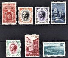 MONACO 1959 SERIE  N° 503 A 509  NEUF** /8 - Monaco