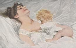 WACH AUF MAMA, Künstlerkarte A. Schwarz, 1919 - Künstlerkarten