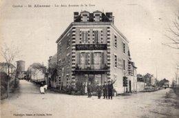 S2801 Cpa 19 Allassac - Les Deux Avenues De La Gare - Andere Gemeenten
