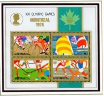 AITUTAKI  -  1976 Olympic Games Miniature Sheet Unmounted/Never Hinged Mint - Aitutaki