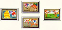 AITUTAKI  -  1976 Olympic Games Set Unmounted/Never Hinged Mint - Aitutaki