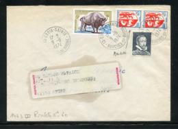 LSI Du 9/9/74 Au Tarif Du 4/1/1971 Avec Paire Du 5c AUCH Provenant De Roulette MAURY N° 47 + Vignette Palissy - Rollen