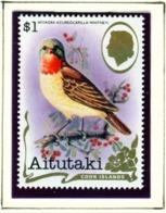 AITUTAKI  -  1981 Birds $1 Unmounted/Never Hinged Mint - Aitutaki