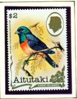 AITUTAKI  -  1981 Birds $2 Unmounted/Never Hinged Mint - Aitutaki