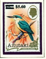 AITUTAKI  -  1983 Birds Surcharged $5.60 On $5 Unmounted/Never Hinged Mint - Aitutaki
