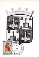 Belgie COB° Hedenkingskaart 1433-1434 - Cartes Souvenir