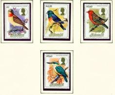 AITUTAKI  -  1984 Birds High Values As Shown Unmounted/Never Hinged Mint - Aitutaki