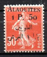 Col17  Colonie Alaouites N° 6 Neuf X MH Cote 13,00€ - Alaouites (1923-1930)