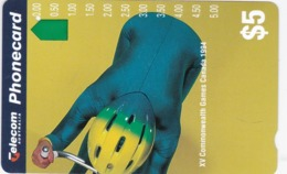 Australia, N941422, Cycling, Commonwealth Games 1994, Sport, 2 Scans. - Australien