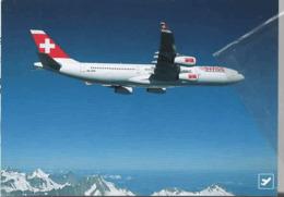 Swiss International Airlines A340 HB-JMA Avion Aereo - 1946-....: Modern Era