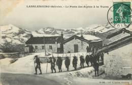 LANSLEBOURG LE POSTE DES ALPINS A LA TURRA - Autres Communes