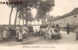 BONNIERES-SUR-SEINE ACCIDENT AUTOMOBILE LA COTE LE VIRAGE VOITURE CRASH 78 YVELINES - Bonnieres Sur Seine