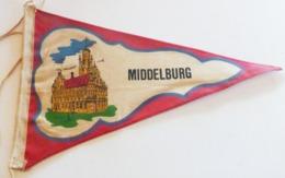 Pays Bas)  Fanion Touristique   MIDDELBURG - Ecussons Tissu