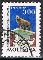 1992- MOLDAVIA / MOLDOVA - MONUMENTO A ROMA / MONUMENT TO ROME - USATO / USED - Moldova
