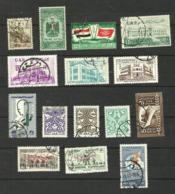 Syrie N°116 à 119, 119A, 120 à 124, 126 à 130 Cote 4.60 Euros - Syrie