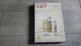 Boite Carton Ancienne Cillustrateur Georges Tournon  Ballon Humour Enfant Collection - Boxes