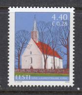 Estland 2006.St. Lawrence's Of Nõo. 13th Century. MNH. Pf. - Estland