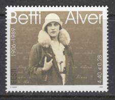 Estland 2006.The 100th Anniversary Of The Birth Of Poetess Betti Alver. MNH. Pf. - Estland