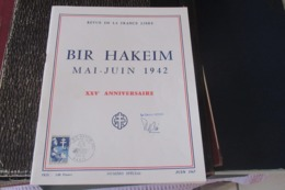 REVUE DE LA FRANCE LIBRE -  - BIR-HAKIM. Signé Koenig - Newspapers