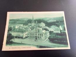 CPA (28) Châteaulin. L'Hôtel De Ville.  (E1535) - France