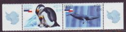 Estland 2006.Antarctica - Joint Issue Chile & Estonia. Paare. MNH. Pf. - Estland