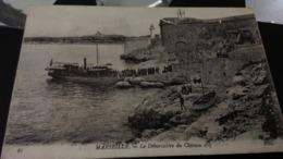 CPA - 95. Marseille Le Débarcadère Du Château D'if - Château D'If, Frioul, Islands...