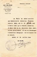 Mairie De Bléré (France-Indre Et Loire) - Old Paper