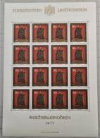 1977 Liechtenstein Stephansbursa Kleinbogen Ungestempelt ** MiNr: 675 - Blokken