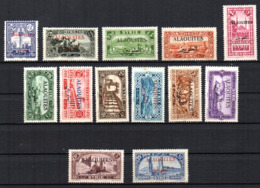 Col17  Colonie Alaouites N° 22 à 34 Neuf X MH & (X) Cote 25,00€ - Alaouites (1923-1930)